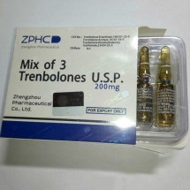 ZPHC Mix of 3 Trenbolones U.S.P 1ml 200mg