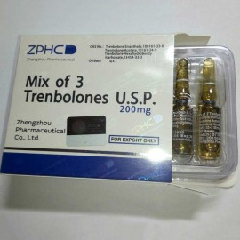 Купить ZPHC Mix of 3 Trenbolones U.S.P 1ml 200mg